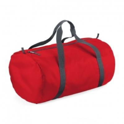 Sac de voyage toile ultra léger pliant - Packaway Barrel Bag - BG150 - rouge