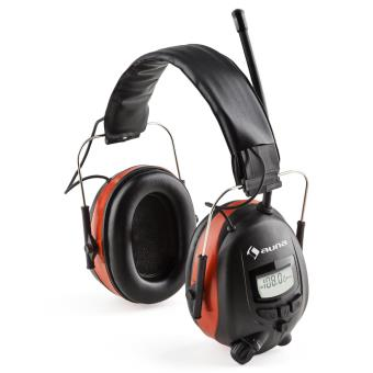 Auna Jackhammer Bt Casque Antibruit Radio Thf Bluetooth 40 Aux Snr