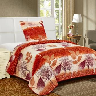 couvre lit boutis 1 place automne achat prix fnac. Black Bedroom Furniture Sets. Home Design Ideas