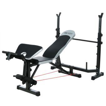 Ancheer professionnel banc de musculation hauteur r glable musculation achat prix fnac - Banc de musculation complet professionnel ...