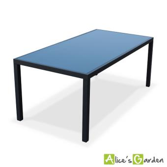 6% sur Salon de jardin aluminium table 180cm, 8 fauteuils en ...