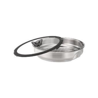 tefal cuit vapeur 26 cm inox couvercle verre ingenio achat prix fnac. Black Bedroom Furniture Sets. Home Design Ideas
