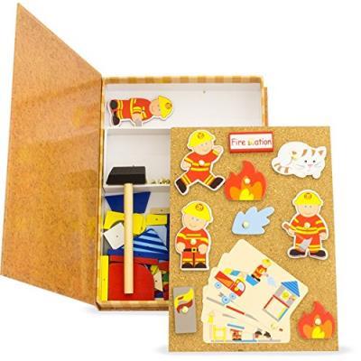 Ulysse couleurs d'enfance - 23029 - les p'tits clous - pompier