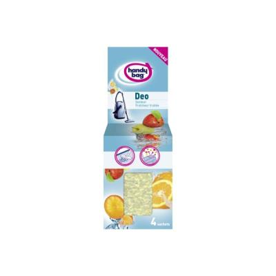 Parfum aspirateur HANDY BAG DEO PERLES FRAICHEUR FRUITEE *4
