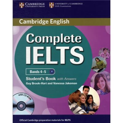 Complete Ielts Bands 4-5 Student'S Book With Answers With Cd-Rom (Paperback)