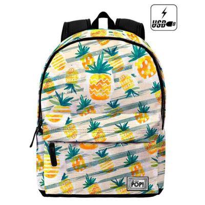 Sac à dos Cartable Ananas Oh my pop 42x30