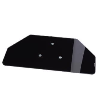 hama plateau tournant pour t l viseur verre noir achat prix fnac. Black Bedroom Furniture Sets. Home Design Ideas