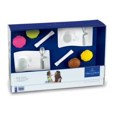 Dinette Villeroy & Boch : New Wave Mini Espresso Set : 12 accessoires Klein