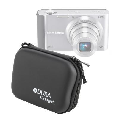 DURAGADGET étui rigide Noir pour Samsung Smart Camera ST90, ST95, ST93 & PL120