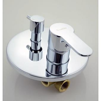 m langeur de robinet de douche rond encastrable robinetterie achat prix fnac. Black Bedroom Furniture Sets. Home Design Ideas