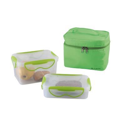 Lunch box 2 boites hermetiques vert sep109v