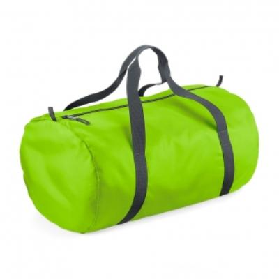 Sac de voyage toile ultra léger pliant - Packaway Barrel Bag - BG150 - vert citron