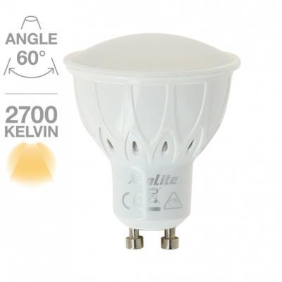 Spot GU10 345 lumens 50W à régulateur automatique de luminosité / 50 équivalent à 5W