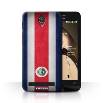 Coque De Stuff4 Etui Housse Pour Asus Zenfone C ZC451CG Costa Rica Design Drapeau Collection