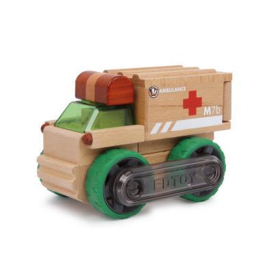 Ambulance en bois à construire Sergio