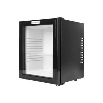 79 91 sur klarstein mks 13 minibar compact 32 litres avec porte vitr e r frig rateur. Black Bedroom Furniture Sets. Home Design Ideas