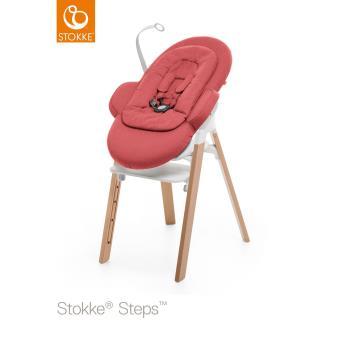 stokke steps transat rouge chaises hautes et r hausseurs achat prix fnac. Black Bedroom Furniture Sets. Home Design Ideas