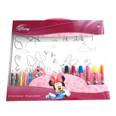 Pochette De Coloriage Minnie Disney Autres Jeux Creatifs Achat