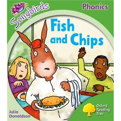 Oxford Reading Tree Songbirds Phonics: Level 2: Fish And Chips (All Stars) (Paperback)