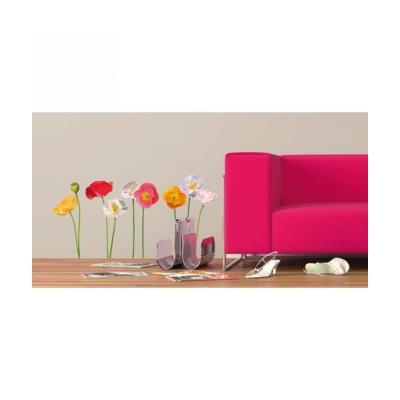 Floral Stickers Muraux 1 Planche 48X68Cm Fdri