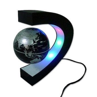 globe terrestre led levitation magique lumineux flottant. Black Bedroom Furniture Sets. Home Design Ideas