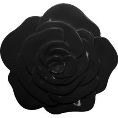 Zak Designs - 0015-0901 - Dessous de Plat Rose - Noir [Cuisine]