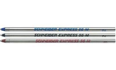SCHNEIDER - Lot de 20 - recharge stylo à bille Express 56, M, noire