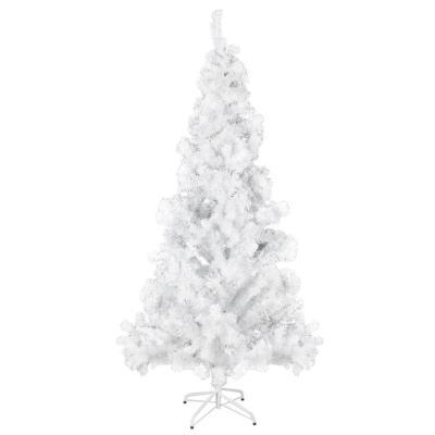 vidaXL Arbre de Noël artificiel avec support en plastique 210 cm 910 Branches