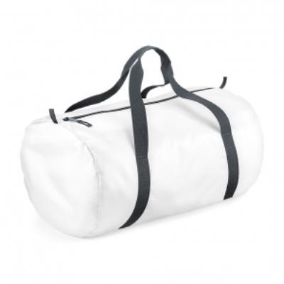 Sac de voyage toile ultra léger pliant - Packaway Barrel Bag - BG150 - blanc