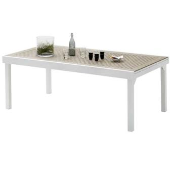 Wilsa Table de jardin 200/320 MODULO 12 PLACES POLYWOOD ...