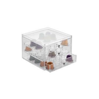 Boîte de rangement capsules superposable - InterDesign - 64 dosettes Nespresso - Achat & prix ...