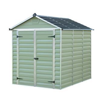 abri de jardin polycarbonate skylight vert. Black Bedroom Furniture Sets. Home Design Ideas