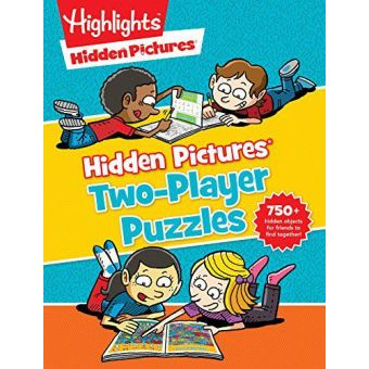 Hidden picturestm two-player puzzle