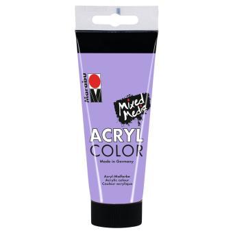 Couleur Lavande Peinture marabu - tube acrycolor couleur lavande - 100ml, accessoires de
