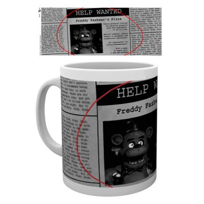 Tasse Five Nights at Freddys Help Wanted