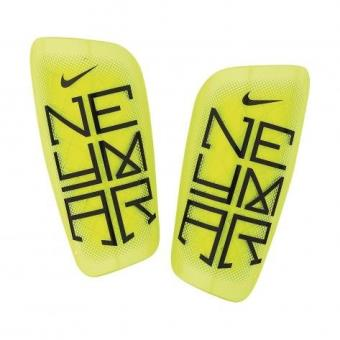 new images of save up to 80% recognized brands Nike neymar mercurial lite protège-tibias m jaune noir ...