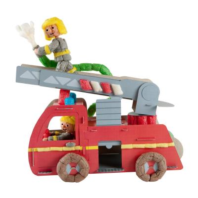 PlayMais Classic Fun to Play : Camion de pompier PlayMais