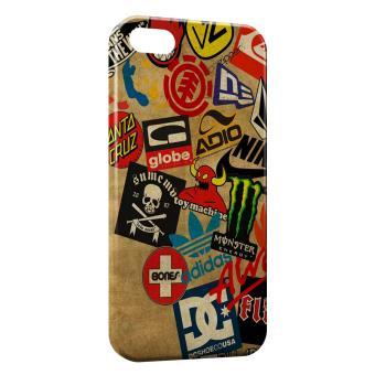 Coque iPhone SE Skateboard marques