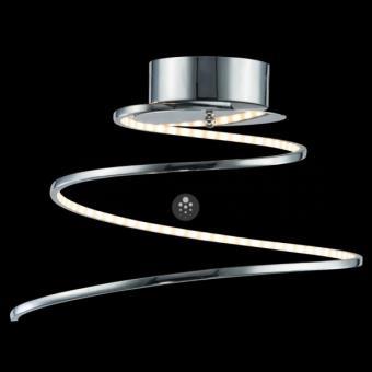 Lustre Plafonnier design LED chrome spirale Looper Résultat Supérieur 15 Nouveau Lustre Plafonnier Design Galerie 2017 Kgit4
