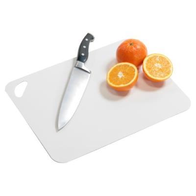 Kesper 30540 planche à découper flexible lot de 2 38 x 29 x 0,2 cm blanc/gris