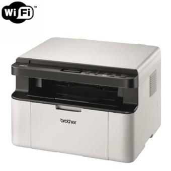 Imprimante laser Brother DCP-1610W multifonction 3-en-1 Blanc avec Wi-Fi