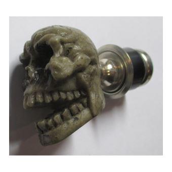 Allume-cigare T/ête de Mort Skull universel