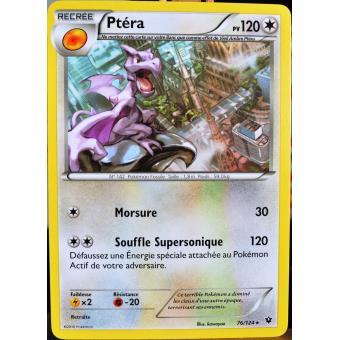 Carte pok mon 76 124 pt ra 120 pv xy impact des destins jeu de cartes achat prix fnac - Pokemon ptera ...