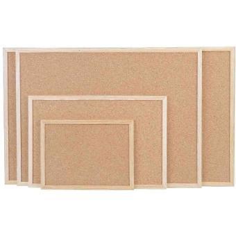 magnetoplan tableau en li ge avec cadre en bois l 400. Black Bedroom Furniture Sets. Home Design Ideas
