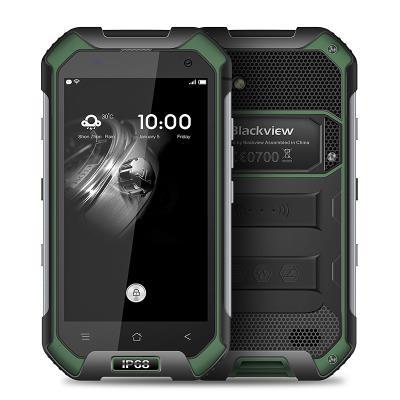 Smartphone 4G Étanche Anti Choc BLACKVIEW BV6000s Écran 47´´ HD Android 60 QuadCore Ram 2GB Rom 16GB WiFi Bluetooth GPS NFC Noir