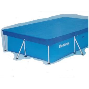 b che protection piscine bestway bache 4 saisons 57140 taille unique accessoires. Black Bedroom Furniture Sets. Home Design Ideas