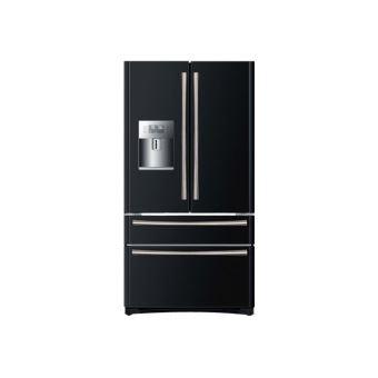 haier hb22fwbaa r frig rateur cong lateur style fran ais pose libre noir achat prix. Black Bedroom Furniture Sets. Home Design Ideas