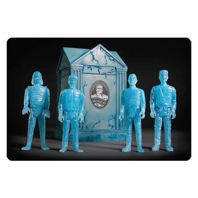 Universal Monsters ReAction 4 figurines Blue Glow SDCC 2015 Exclusive 10 cm