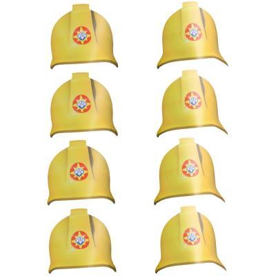 Chapeaux Sam le pompier (x8)