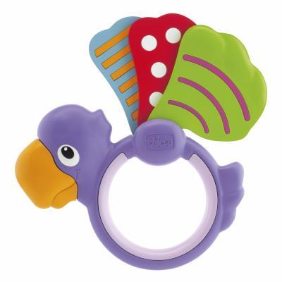 Chicco-hochet baby senses-perroquet